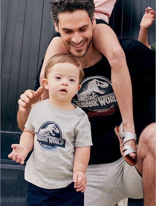 T-shirt 'Jurassic World'                             gris