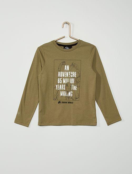 T-shirt 'Jurassic World'                                                                 VERT