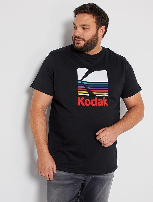 T-shirt 'Kodak'                             noir