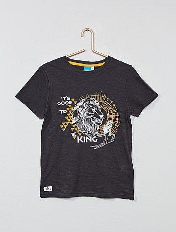 6a591d53334f4 T-shirt  La Garde du Roi Lion  - Kiabi