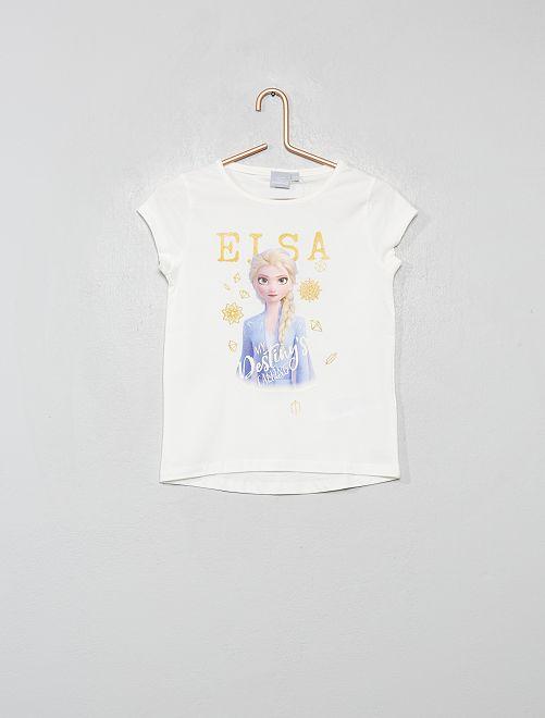 T-shirt 'La Reine des Neiges 2'                                         écru