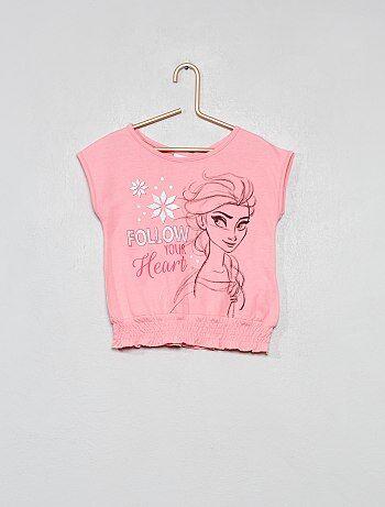T-shirt 'La Reine des neiges'
