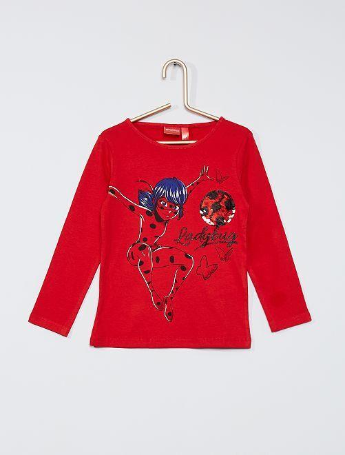 T-shirt 'Ladybug'                                         rouge