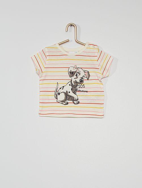 T-shirt 'Les 101 Dalmatiens'                             beige