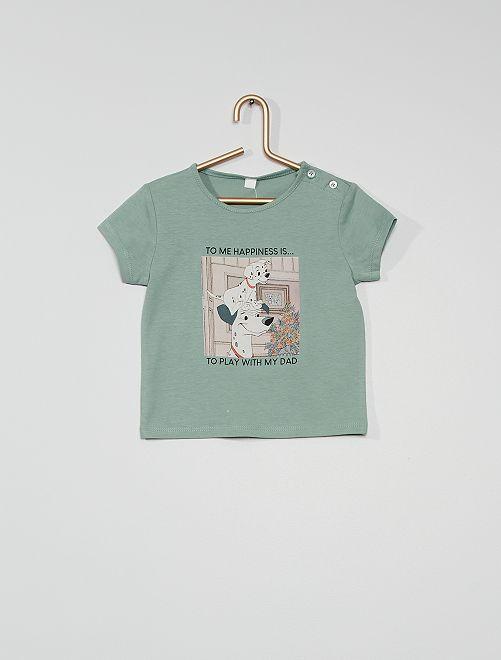 T-shirt les 'Dalmatiens' éco-conçu                             bleu