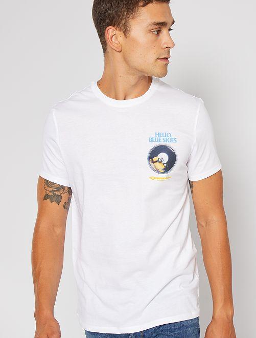 T-shirt 'Les Minions'                             blanc