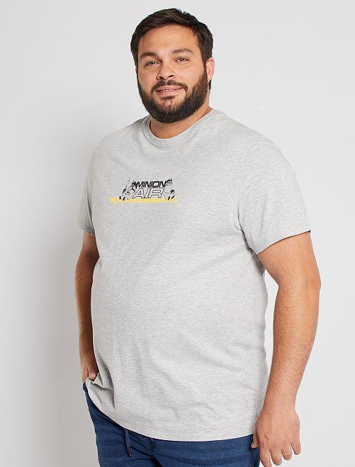 T-shirt 'Les Minions'                             gris