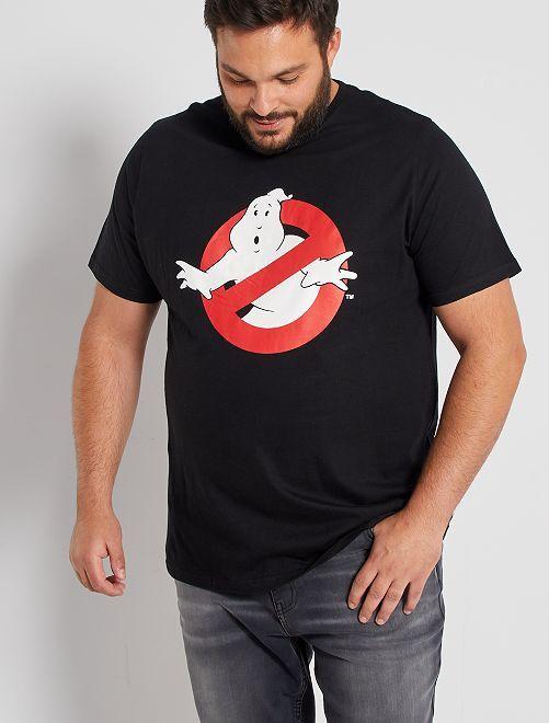 T-shirt logo 'Ghostbusters'                             noir