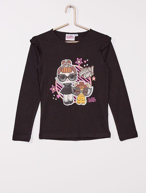 T-shirt 'LOL Surprise'                                         noir