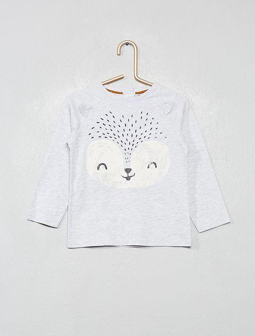 T-shirt manches longues                                                                 gris