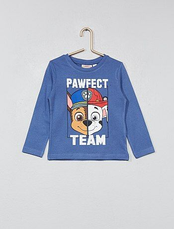 T-shirt manches longues 'Pat' Patrouille' - Kiabi