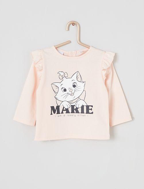 T-shirt 'Marie' éco-conçu                                         rose