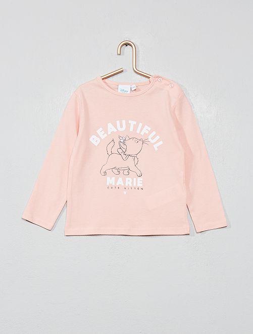 T-shirt 'Marie'                                         rose