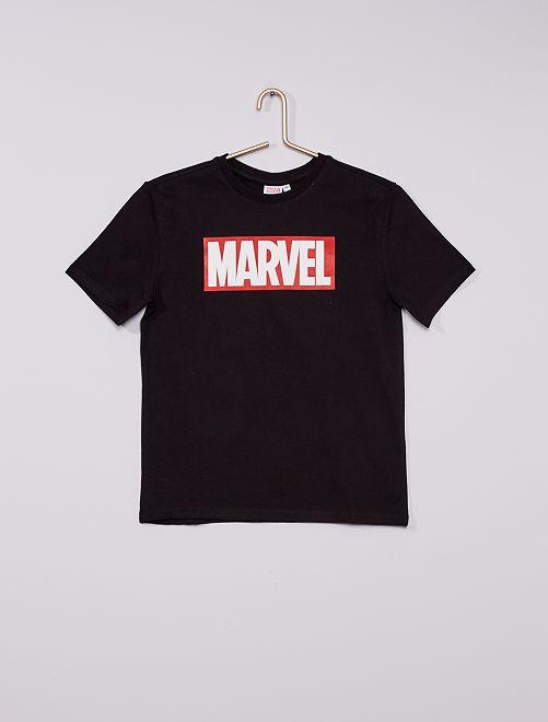 T-shirt 'Marvel'                             noir