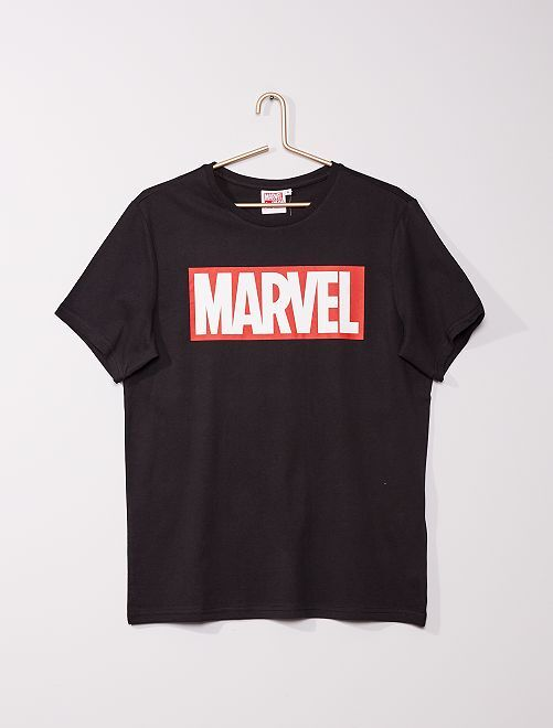 T-shirt 'Marvel'                             noir