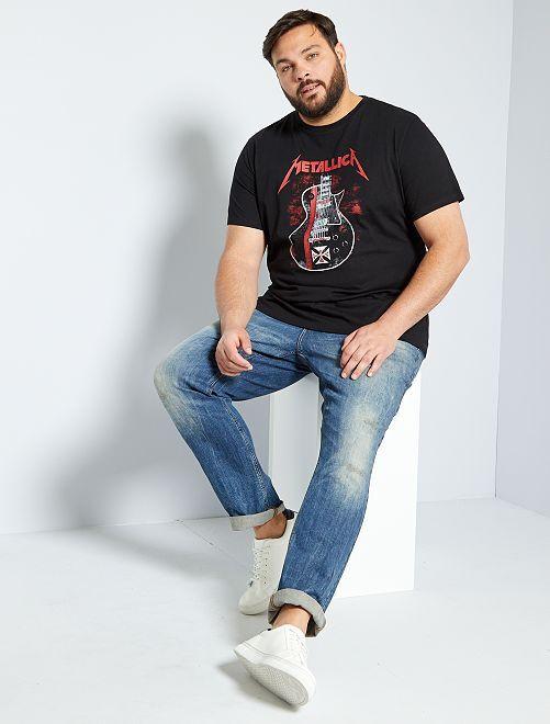 T-shirt 'Metallica'                             noir