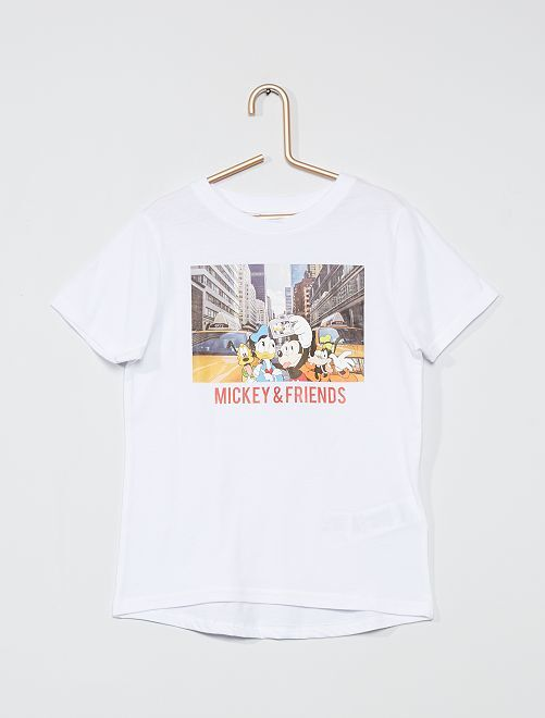 T-shirt 'Simba' 'Le Roi Lion'                                                         blanc
