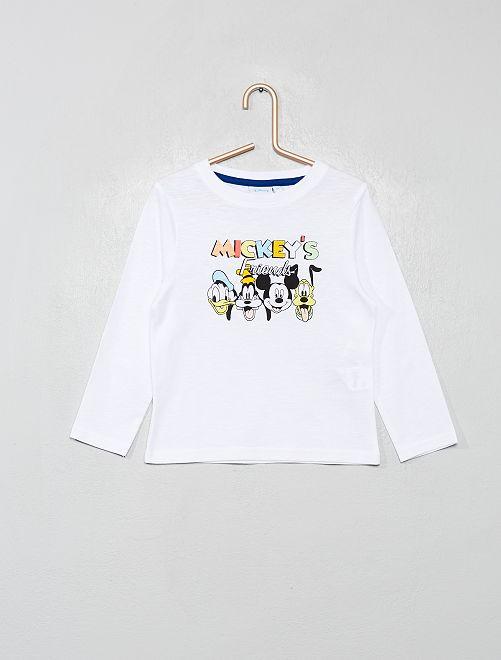 T-shirt 'Mickey'                                                                 blanc/mickey