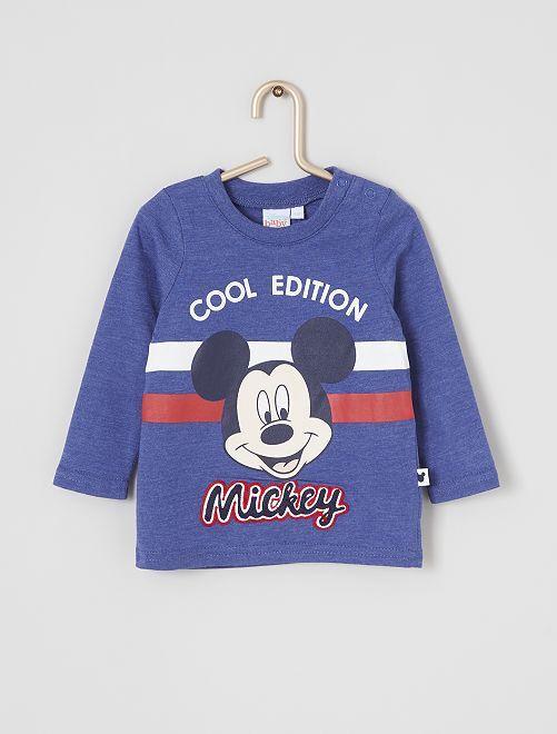 T-shirt 'Mickey'                                         bleu
