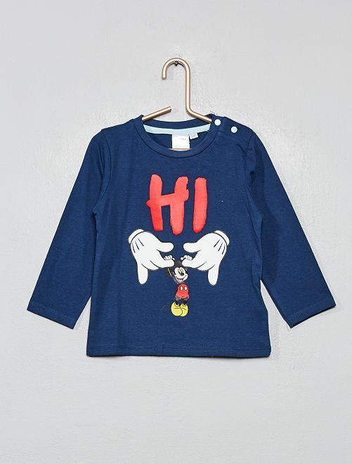 T-shirt 'Mickey'                                                     bleu marine
