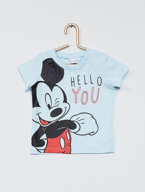 T-shirt 'Mickey' de 'Disney'                                         bleu
