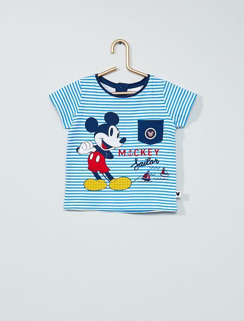 T-shirt 'Mickey' de 'Disney'                                         bleu