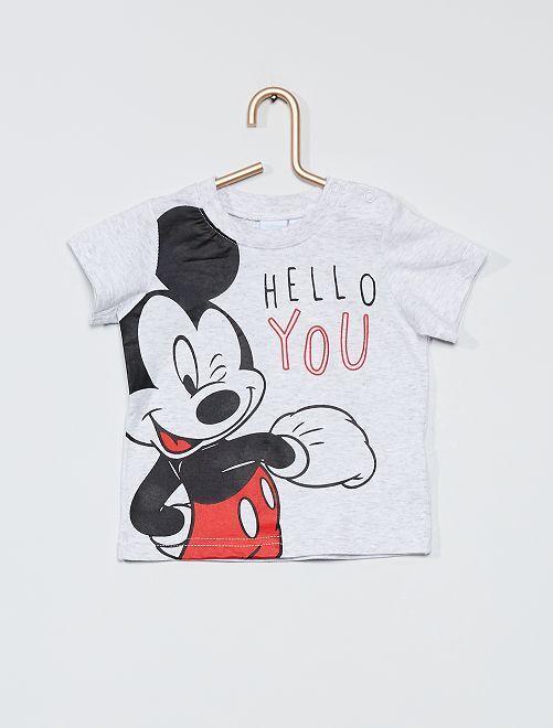 T-shirt 'Mickey' de 'Disney'                                         gris chiné