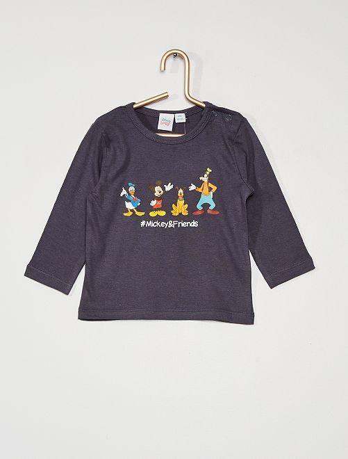 T-shirt 'Mickey et ses amis'                             bleu marine