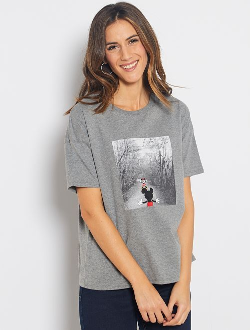 T-shirt 'Mickey'                                                                                                                             gris Mickey