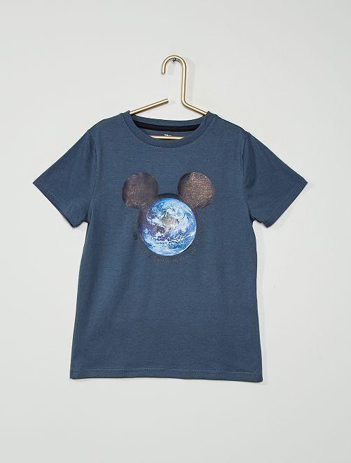 T-shirt 'Mickey Mouse' de 'Disney'                                                                                         bleu