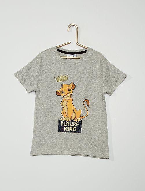 T-shirt 'Mickey Mouse' de 'Disney'                                                                                         gris