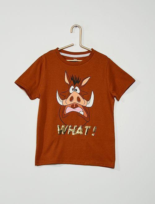 T-shirt 'Mickey Mouse' de 'Disney'                                                                                         orange