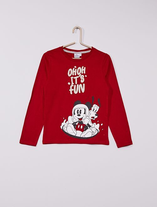 T-shirt 'Mickey Mouse'                                                                             rouge fun