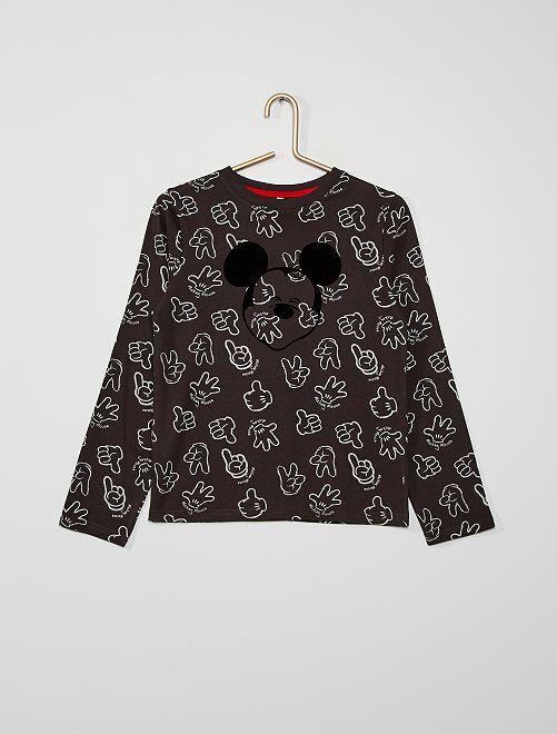 T-shirt 'Mickey'                                         noir