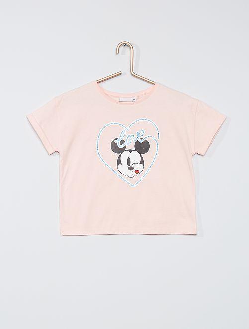 T-shirt 'Mickey'                                                                 rose