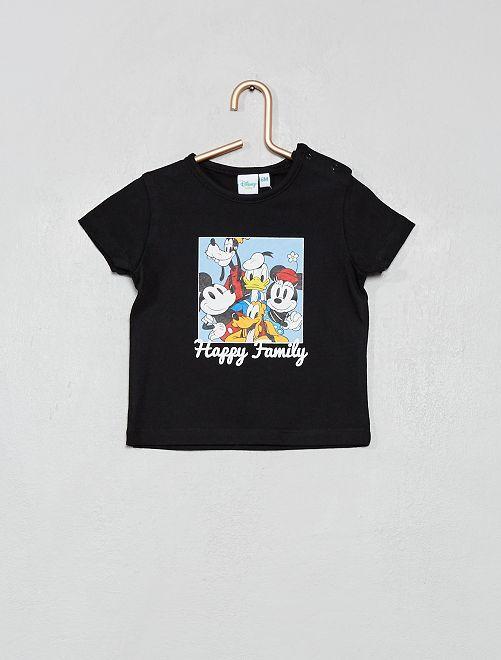 T-shirt 'Mickey'_Mini me                             noir