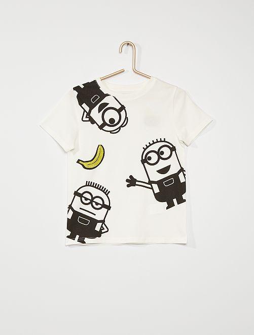 T-shirt 'Minions'                                                                 blanc