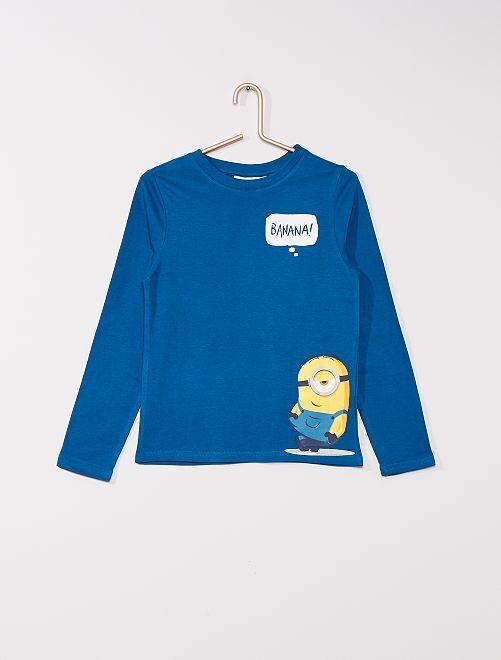 T-shirt 'minions'                                         bleu