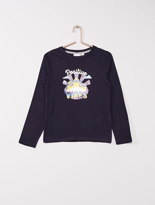 T-shirt 'Minions'                             marine