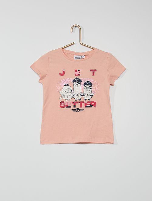 T-shirt 'Minions'                                         rose