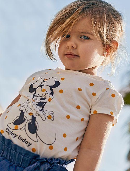 T-shirt 'Minnie'                             blanc