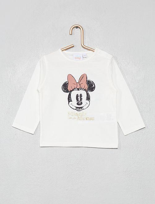 T-shirt 'Minnie'                                                                 blanc cassé Minnie