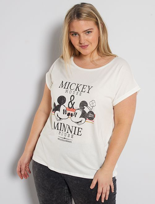 T-shirt 'Minnie' de 'Disney'                                                                                                                                                                             blanc