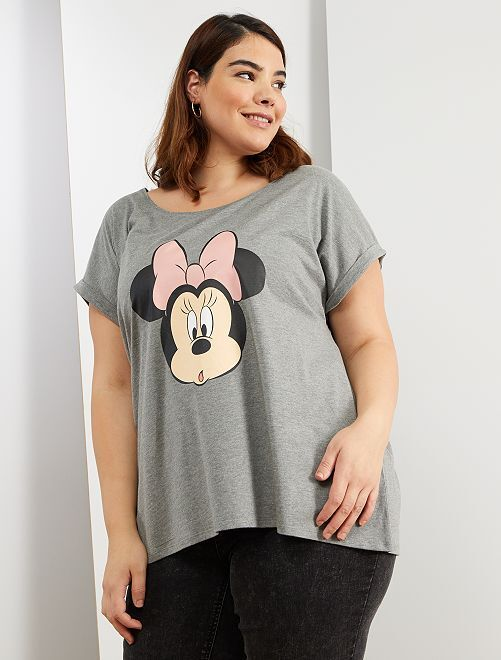 T-shirt 'Minnie' de 'Disney'                                                                                                                                                                             gris