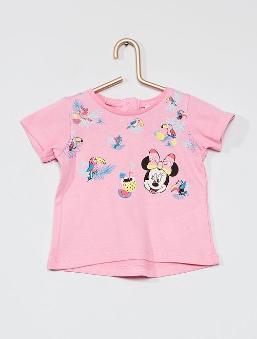 T-shirt 'Minnie' de 'Disney'                             rose
