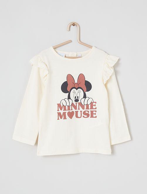 T-shirt 'Minnie' éco-conçu                                         beige