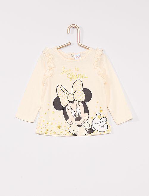 T-shirt 'Minnie'                                         écru