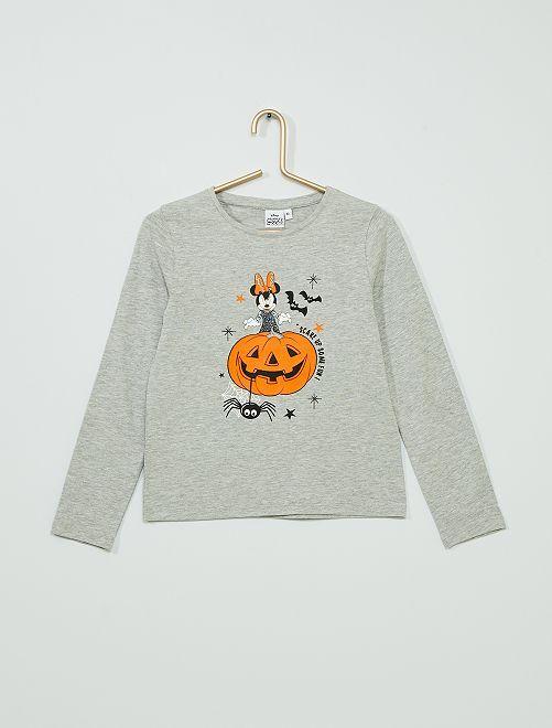 T-shirt 'Minnie' Halloween                                         gris