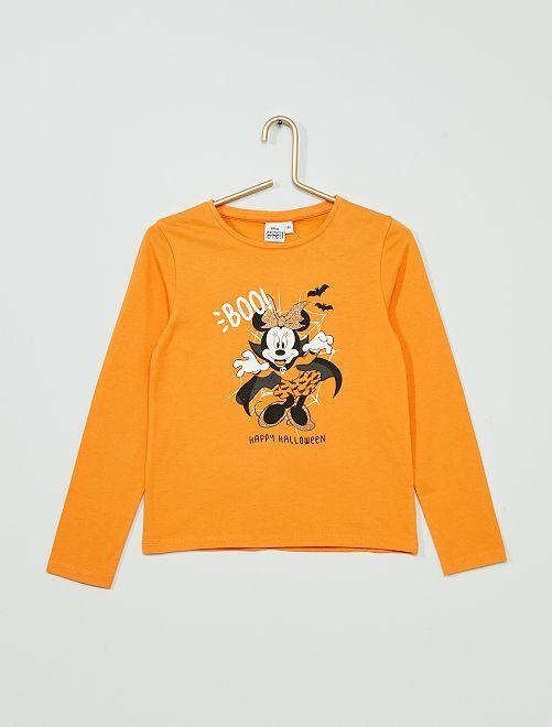 T-shirt 'Minnie' Halloween                                         orange