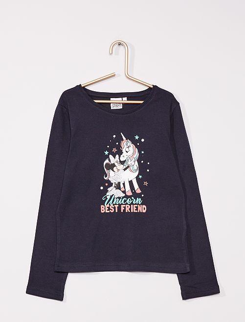 T-shirt 'Minnie Mouse' de 'Disney'                                                                 bleu